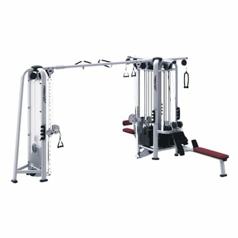 Multi Functional Commercial Multi Station Gym Equipment Custom Service Available