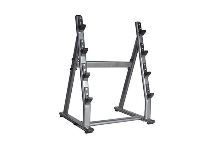 Commercial Gym Rack And Bench / 4 Pairs Barbell Rack Custom Service Available