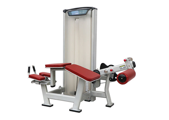 Indoor Gym Matrix Workout Equipment , Prone Leg Curl Exercise Machine